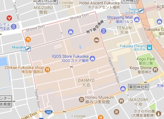 Daimyo map
